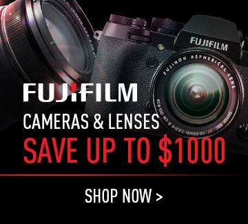 Fuji Cameras & Lenses