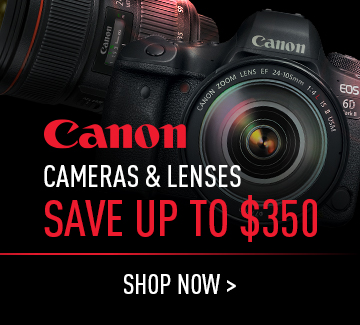 Canon Camera and Lenses