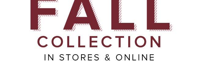 New Fall Sale