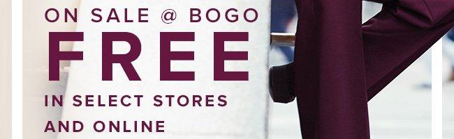 BOGO Free Suiting