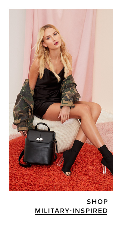 Shop Military-inspired