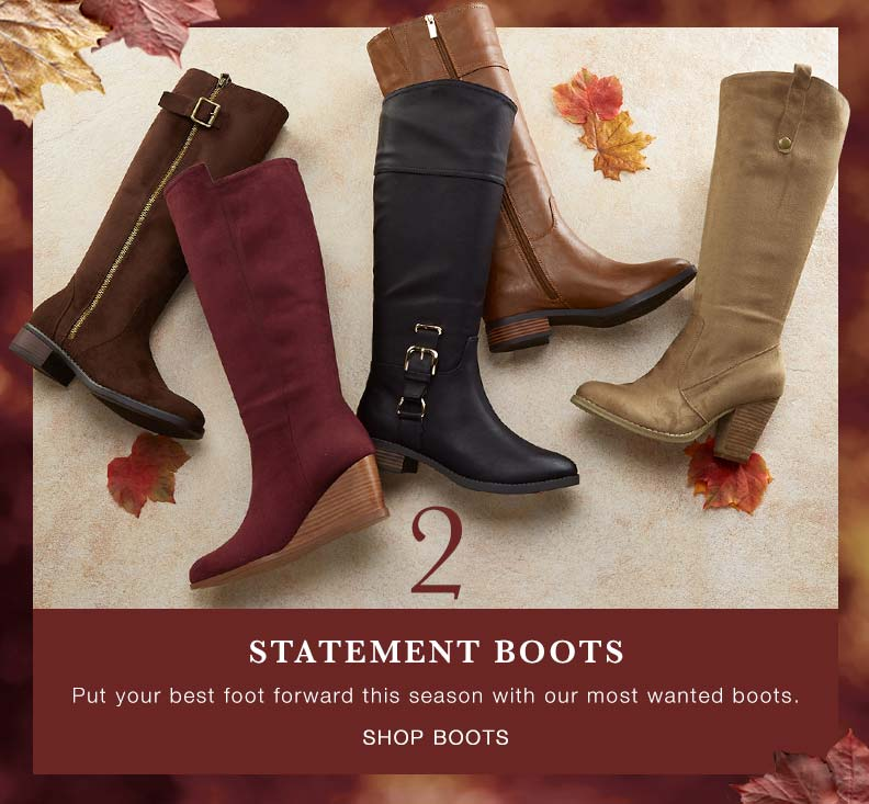 Fall Five: Boots
