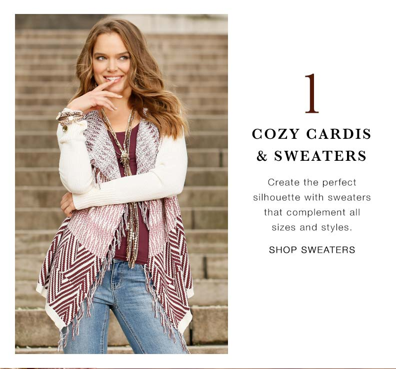 Fall Five: Sweaters