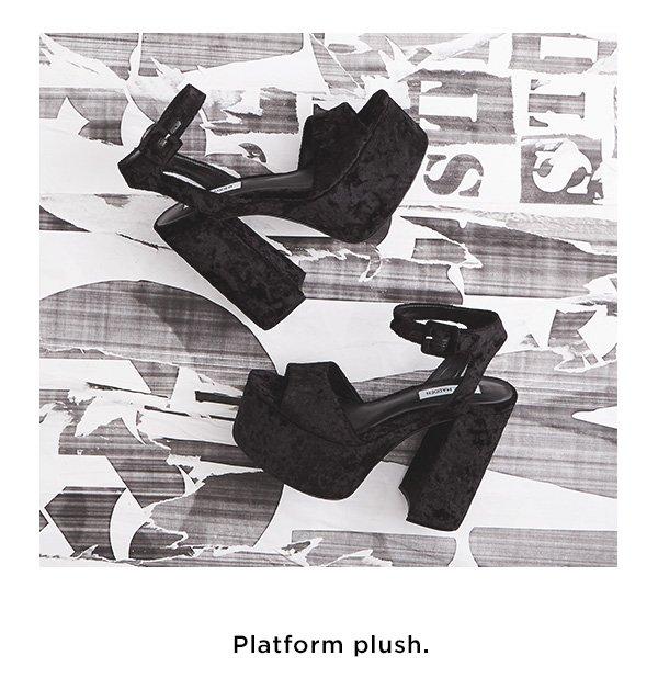 Platform plush