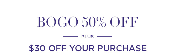 BOGO 50% off going on now!