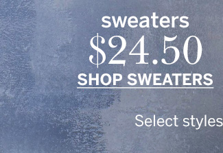 $24.50 Sweaters