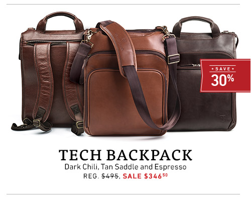 Tech Backpack - Sale $346.50 >