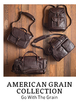 American Grain Collection. Go With The Grain.