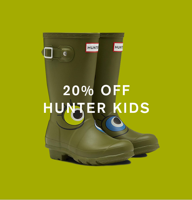 20% Off Hunter Kids