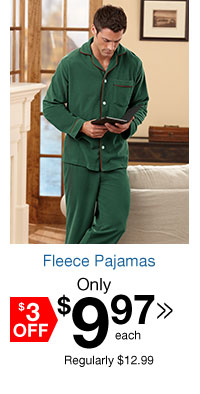 Fleece Pajamas