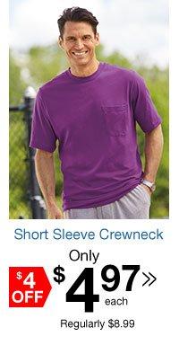 Short Sleeve Crewneck