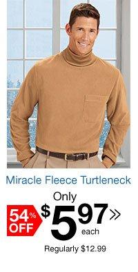 Miracle Fleece Turtleneck