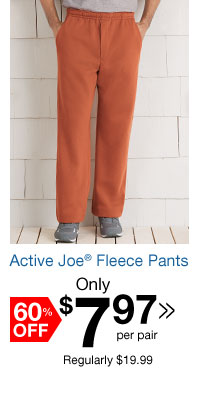 Active Joe Fleece Pants