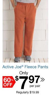 Active Joe Fleece Pants