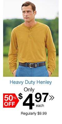 Heavy Duty Henley