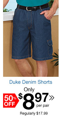Duke Denim Shorts