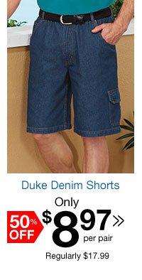 Duke Denim Shorts