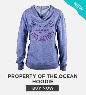 Property Of The Ocean Hoodie