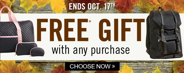 FREE GIFT with every purchase!