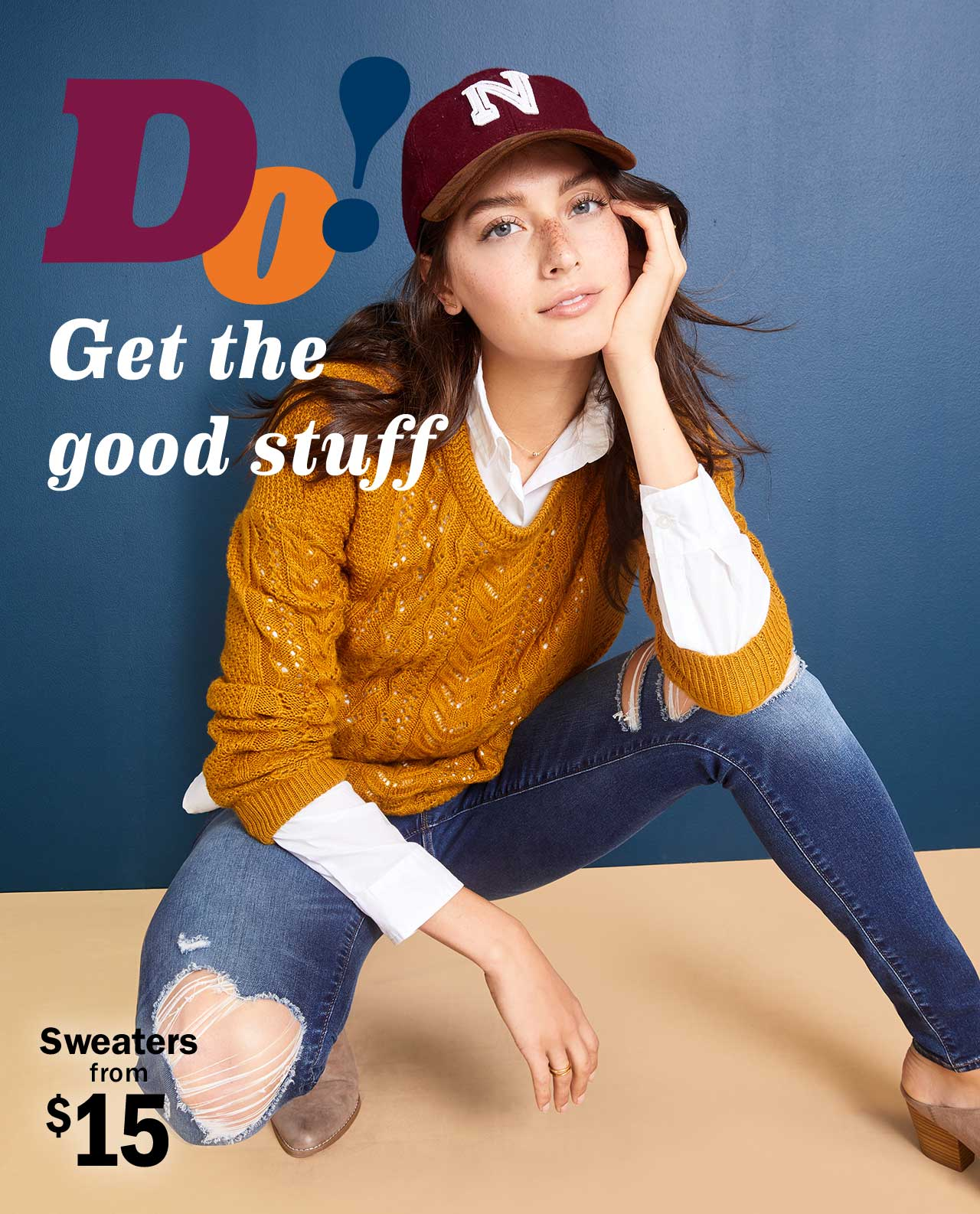 DO! | Get the good stuff | Sweaters from $15