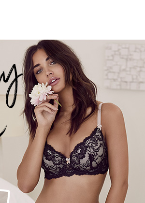 JANEY LACE BRA