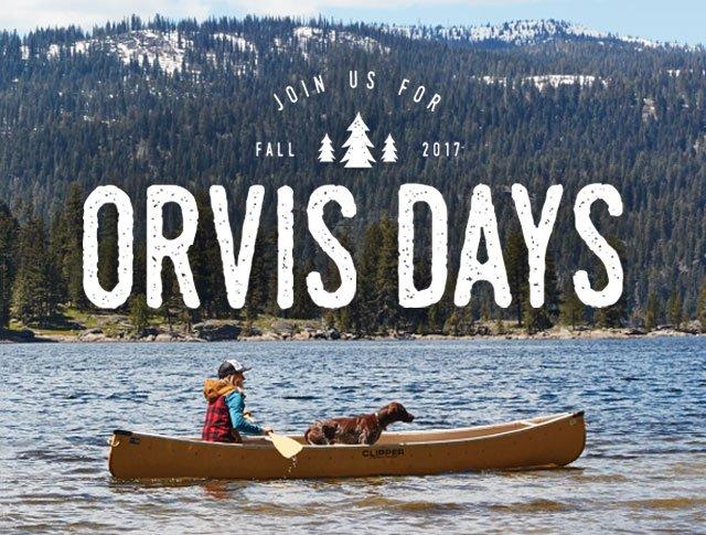 Orvis Days