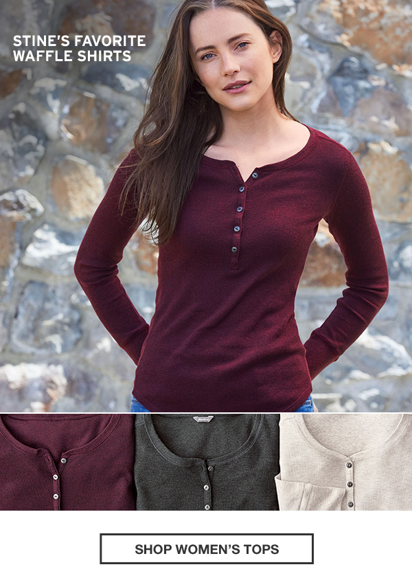 THERMAL ENERGY | SHOP WOMEN'S TOPS