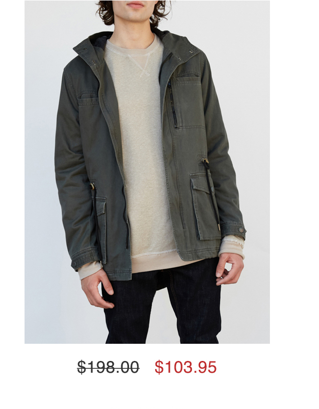 Snow Plow Jacket $103.95
