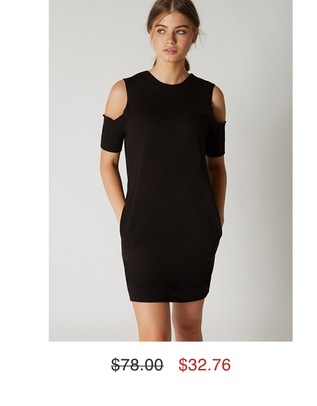Cold Shoulder Dress $32.76