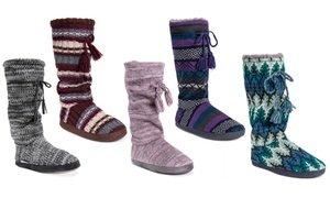 MUK LUKS Gloria Women's Tall Slippers