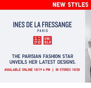 NEW STYLES COMING SOON - Ines De La Fressange - Shop Women