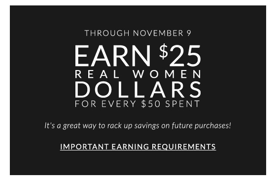 Earn $25 Real Women Dollars