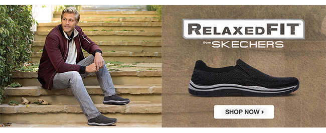 Shop Men's Relaxed Fit from Skechers