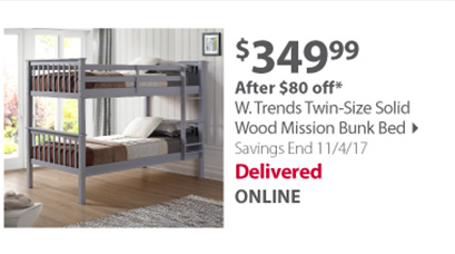 W. trends bunk bed