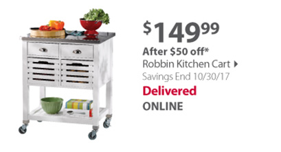 Robbin kitchen cart