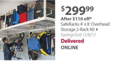 Saferacks 2-rack kit