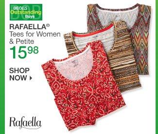 Shop 15.98 Rafaella Tees