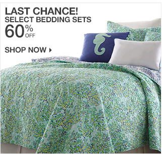 Shop 60% Off Select Bedding Sets