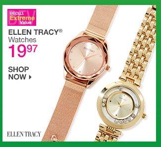 Shop 19.97 Ellen Tracy Watches