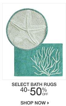 40-50% Off Select Bath Rugs