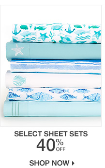 40% Off Select Sheet Sets