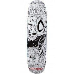 "Grizzly X Spiderman Ink Skateboard Deck - 8.375"""