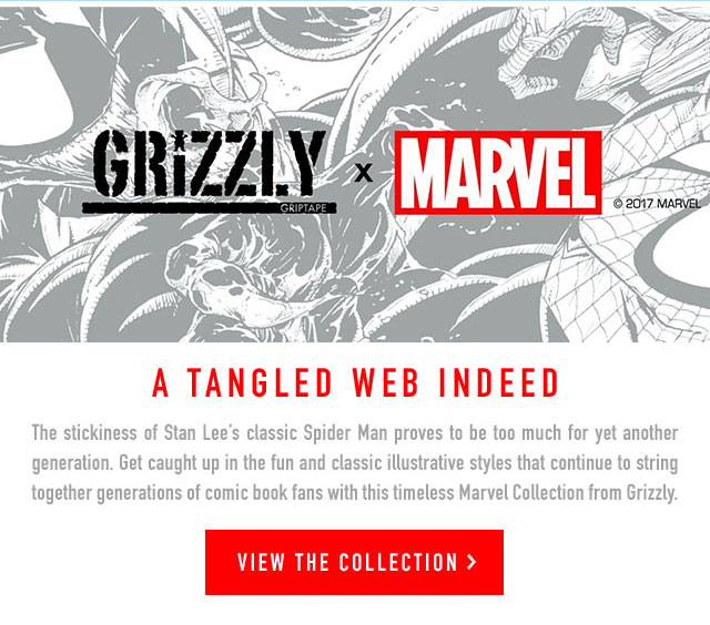 grizzly-x-marvel-collection