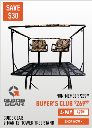Guide Gear 2-Man 12' Tower Tree Stand