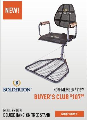 Bolderton Deluxe Hang-On Tree Stand