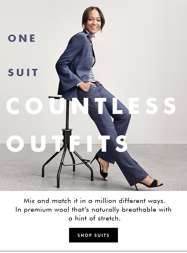 ONE SUIT COUNTLESS OUTFITS | SHOP SUITS
