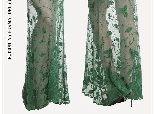 Poison Ivy Formal Dress