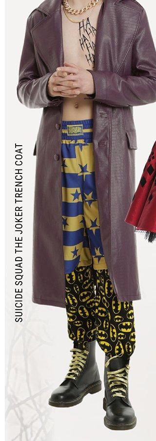 The Joker Trench Coat