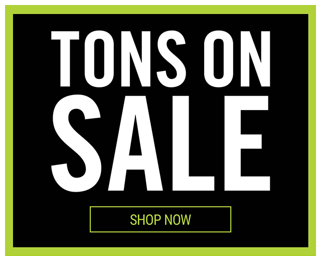 Tons on Sale