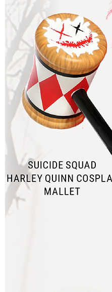 Harley Quinn Costume Mallet